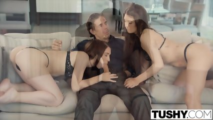 TUSHY Two Young Girls With Huge Gaping Asshole - scene 4