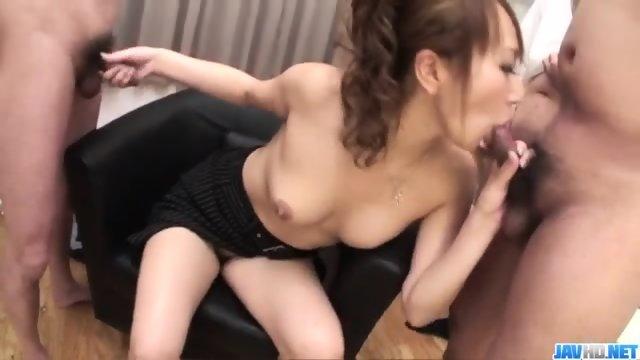 Anna Mizukawa loves having her moist cunt pumped well - scene 8