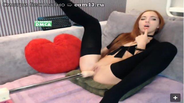 Sex Machine fuck pussy - scene 3