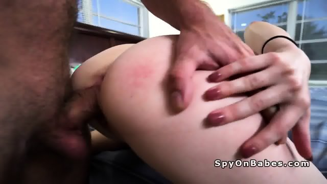 Blonde student spied while masturbates by the pool - scene 8