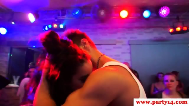 Glam euro amateurs sucking cock at party - scene 6