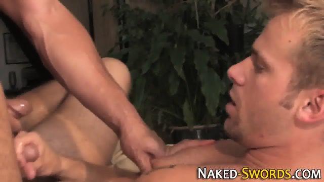 Hunk fucked and jizzed - scene 11