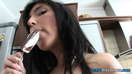 Fucked Babe Jugs Jizzed - scene 1
