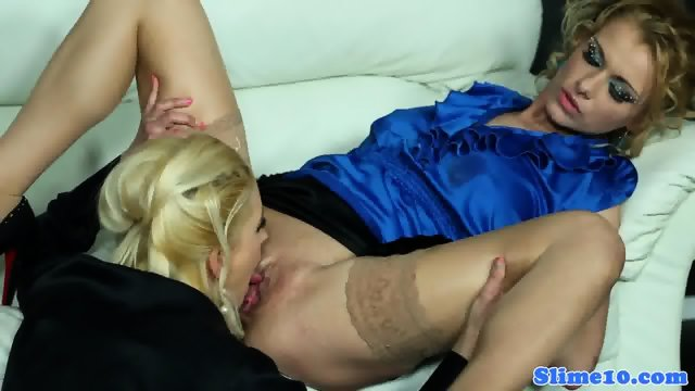 European bukake lesbo fisted at the gloryhole - scene 3