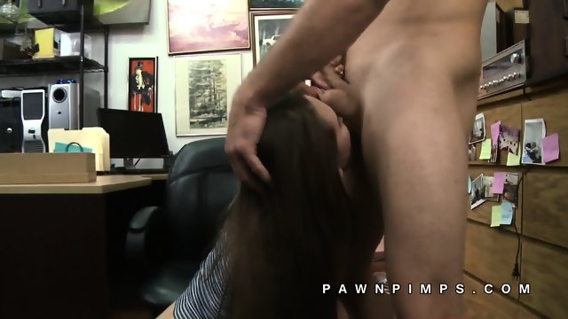 Naomi Alice sells her mouth to pawn shop - scene 12