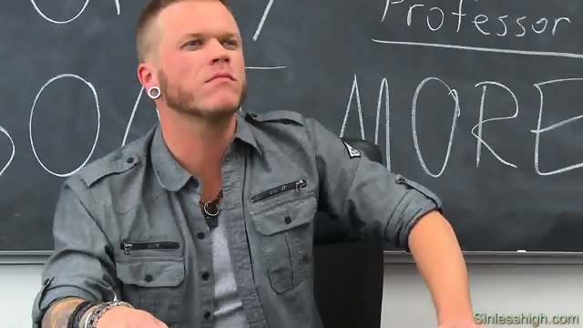 Professor Miller met with student first time - scene 2