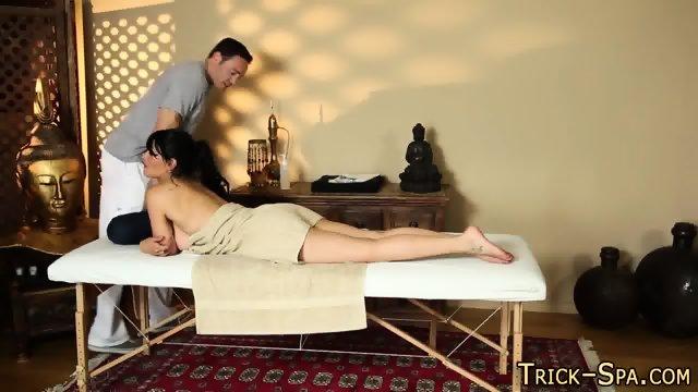 Secret filmed massaged ho