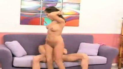 Camryn Kiss rides his big dick kneel-high - scene 8
