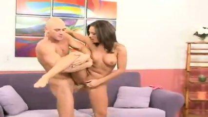 Camryn Kiss rides his big dick kneel-high - scene 6