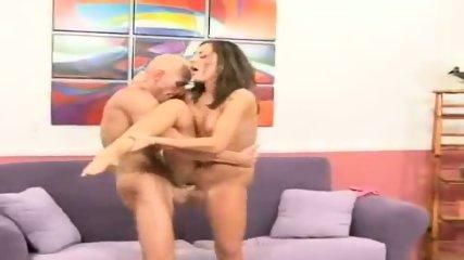 Camryn Kiss rides his big dick kneel-high - scene 7