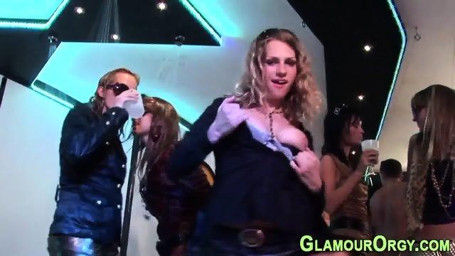 Cum dumped glam whore