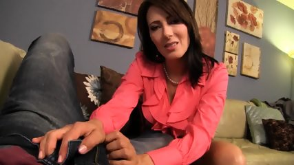 Zoey Holloway - Dad Cheats On Mom With Young Secretary, Mom Gets Revenge By Giving Her Son A Hanjdjob. - scene 4