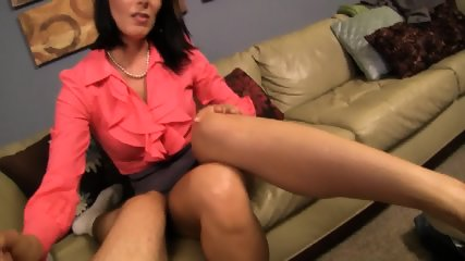 Zoey Holloway - Dad Cheats On Mom With Young Secretary, Mom Gets Revenge By Giving Her Son A Hanjdjob. - scene 7