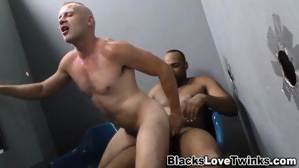 Black Guy Cum Facializes