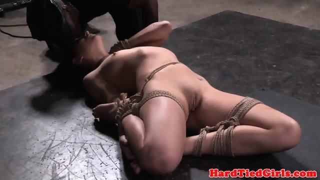 Flexible bound sub pussy punished by dom - scene 10