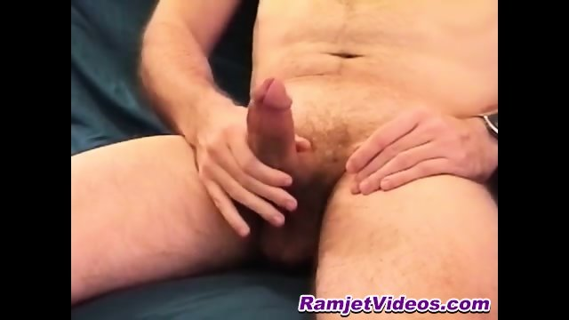 Braden has a big cock that he likes jacking off often
