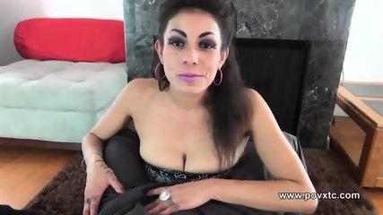 Katrina Kox Gets A Big Facial After Smoking While Asslicking And Sucking - scene 1