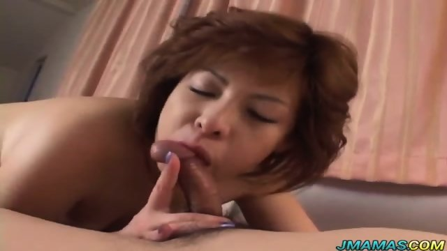 Mature Megumi gets her pussy licked and banged in different poses - scene 8