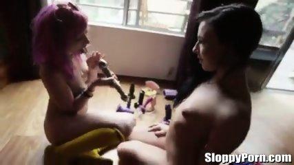 Horny Lesbians Dana DeArmond, Melody Jordan, Ash Hollywood, Mischa Brooks