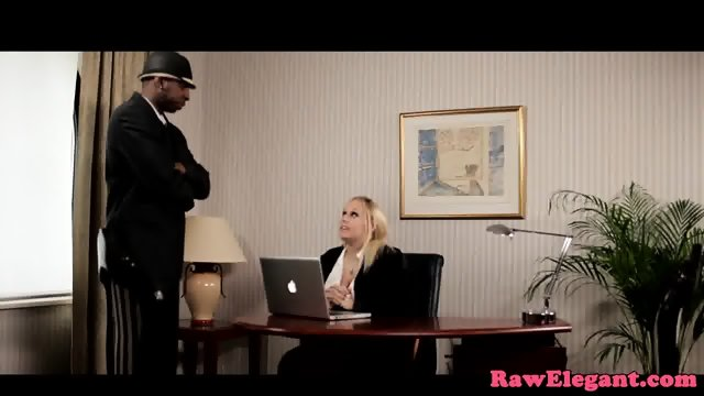 Bigtitted interracial babe fucked up her ass - scene 2