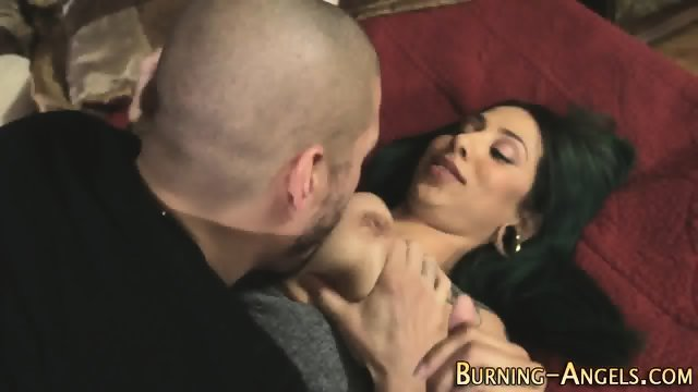 Tattooed whore gets oral - scene 2