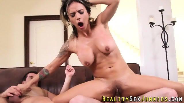 Squirting pornstar facial - scene 10