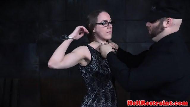 Restrained bdsm submissive spanked - scene 2