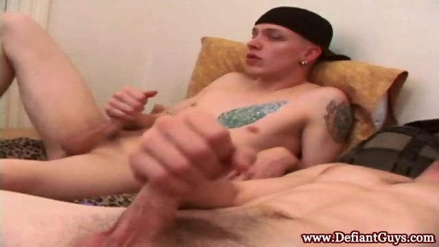 Pierced young punk cocksucking best friend - scene 8