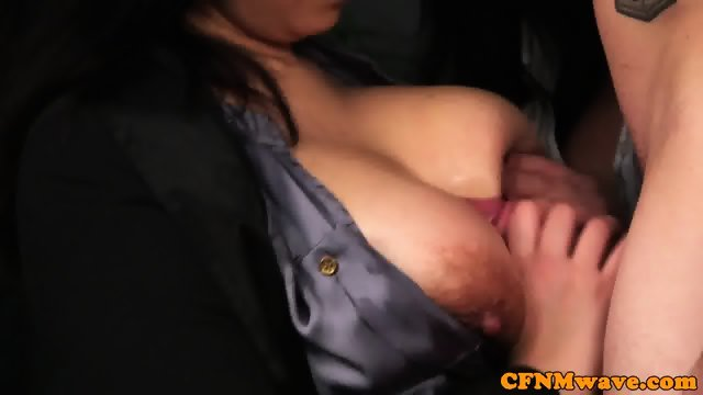 Bigtitted CFNM euro titfucking patients cock - scene 11