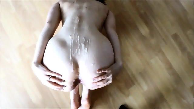 HD Cum on ass cumshot compilation - scene 3
