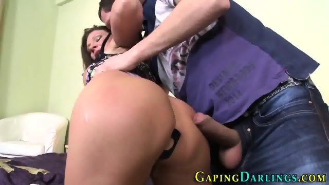 Juggs babes butt pounded - scene 7