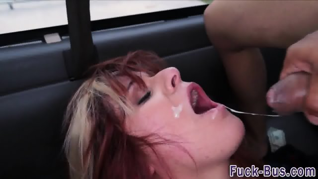 Real ginger facialized - scene 11