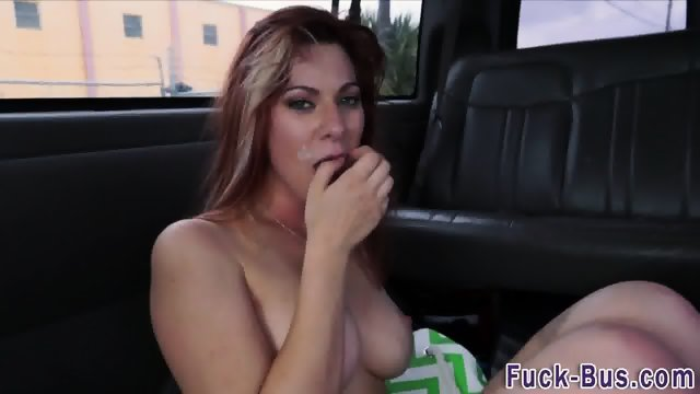 Real ginger facialized - scene 12