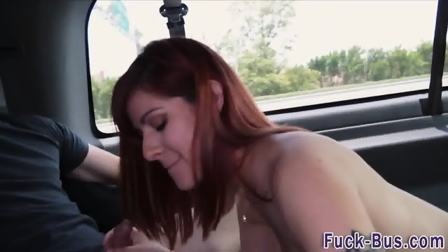 Real ginger facialized - scene 5