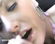 Hot Blonde sucks Boyfriend in a Car - scene 8
