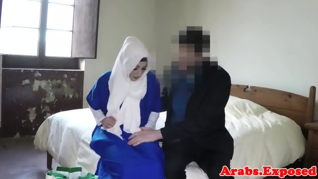 Exotic muslim refugee facefucked and drilled