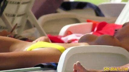 Topless MILFs Amateur - Voyeur Beach HD Video+ - scene 12