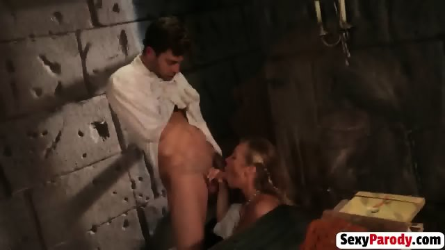 Axel Braun bombshell back in Medieval sexy pussy licking