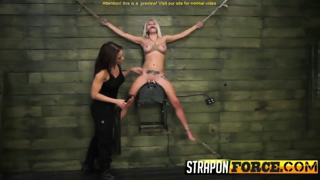 Blonde Babe Lily Enjoys This Femdom