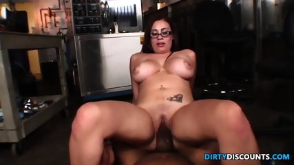 Latina Jugs Jizzed By Bbc - scene 8