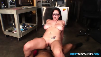 Latina Jugs Jizzed By Bbc - scene 9