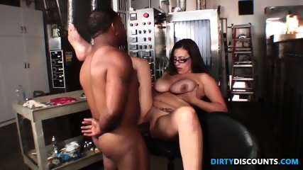 Latina Jugs Jizzed By Bbc - scene 11