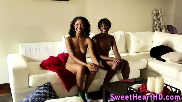 ebony lesbians compilation