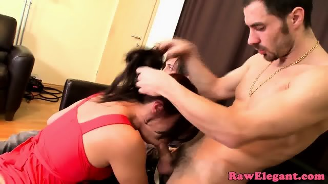 Glamcore euro cockriding in dp threeway