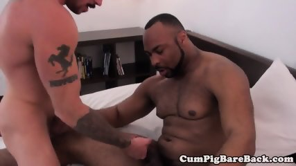 Inked mature sucked and fucked by blackbear