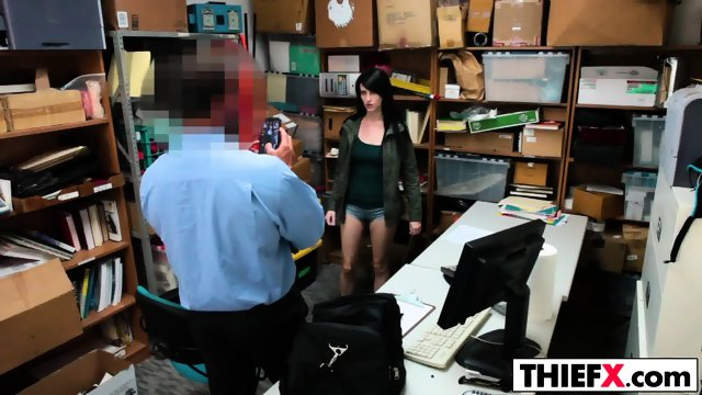 Teen Alex Harper Is A Naughty Thief