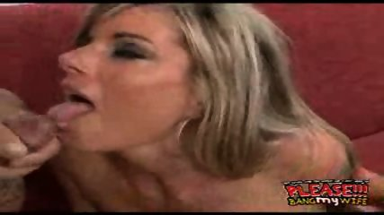 Hot MILFgets fucked while her husband watches - scene 12