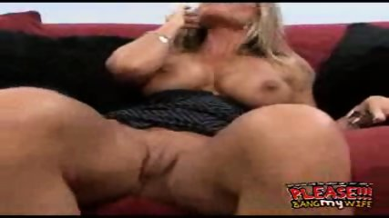 Hot MILFgets fucked while her husband watches - scene 5