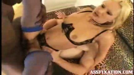 Hot Blonde is in big cock heaven - scene 3