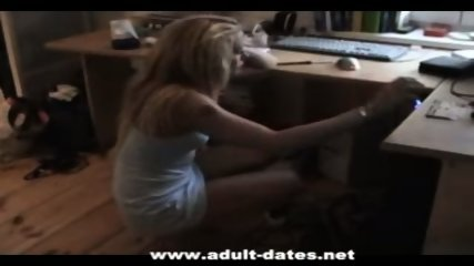 Very hot german amateur chick - scene 1